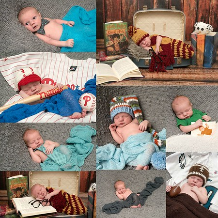 The Weindel's Newborn Session